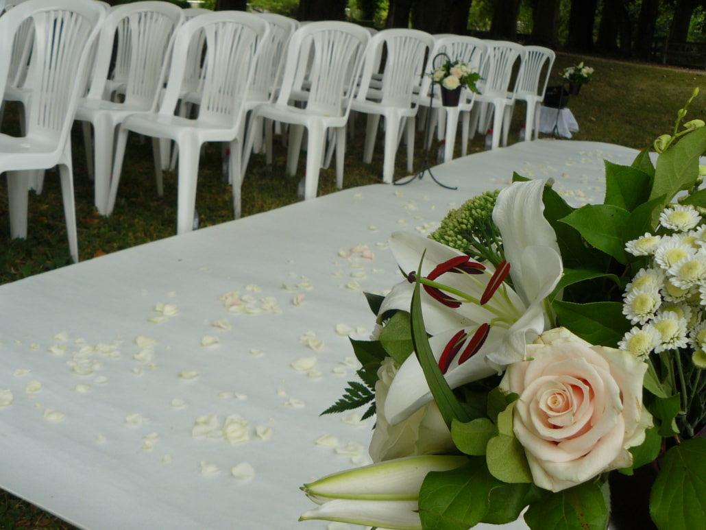 décorations de mariage en extérieur