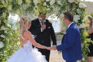 cérémonie de mariage Côte d'Azur